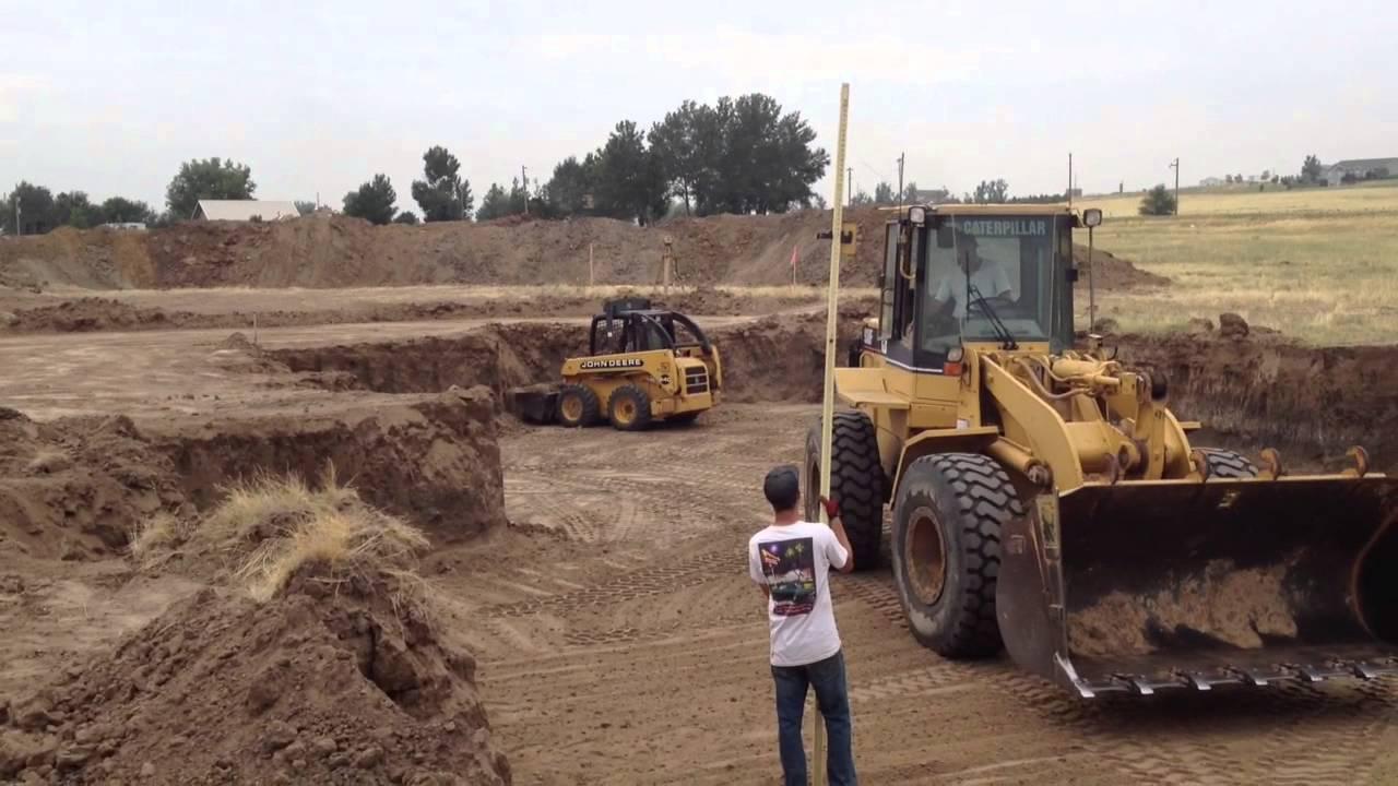 خاکبرداری، پی کنی و یا گودبرداری ساختمان