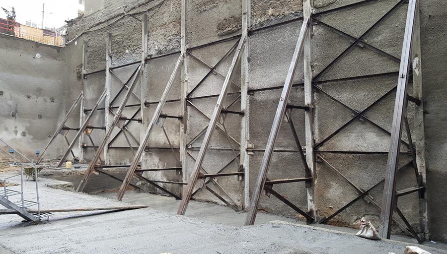 Image result for گودبرداری و سازه های نگهبان