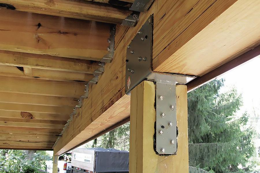مروری بر روش اجرای سازه های چوبی کارگشا