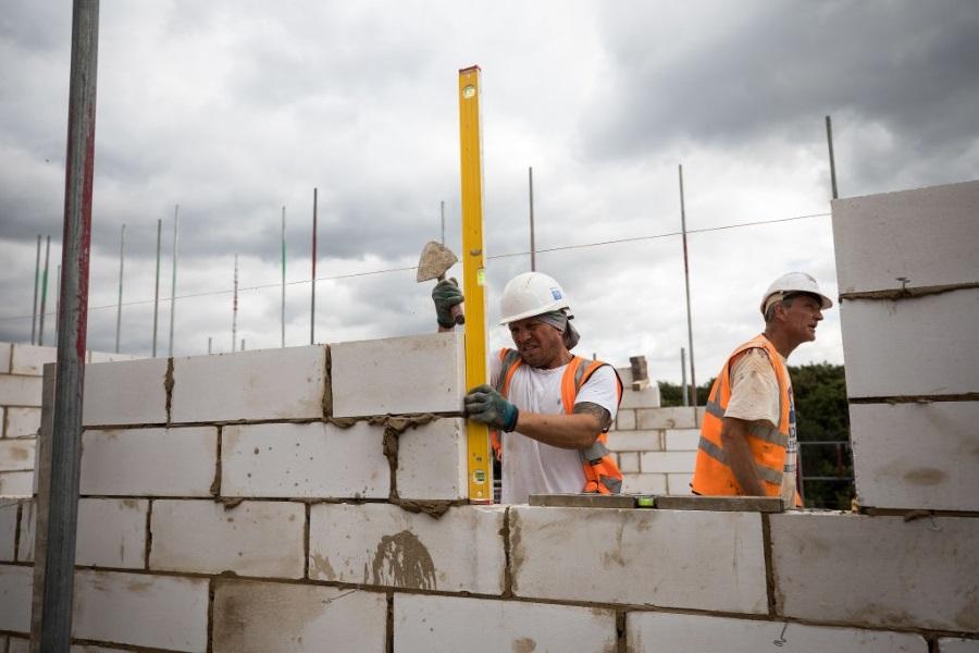 اتصال دیوار به ستون یا سازه با استفاده از بلوک هابلکس