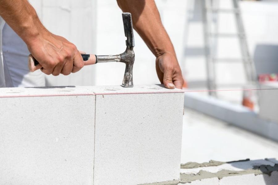 مراحل اجرای دیوار با استفاده بلوک هابلکس کدام است؟