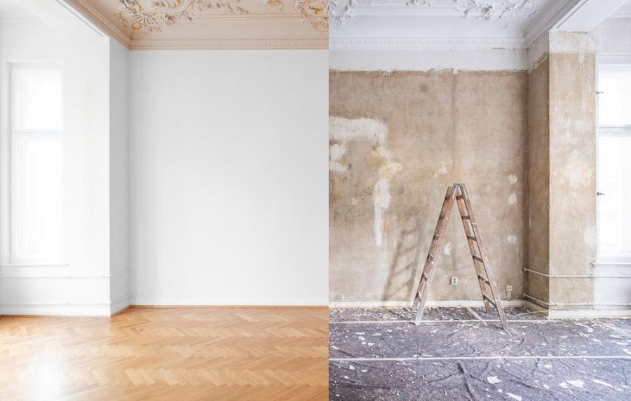 بازسازی خانه های قدیمی قبل و بعد