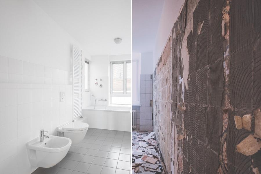 بازسازی حمام و سروی بهداشتی