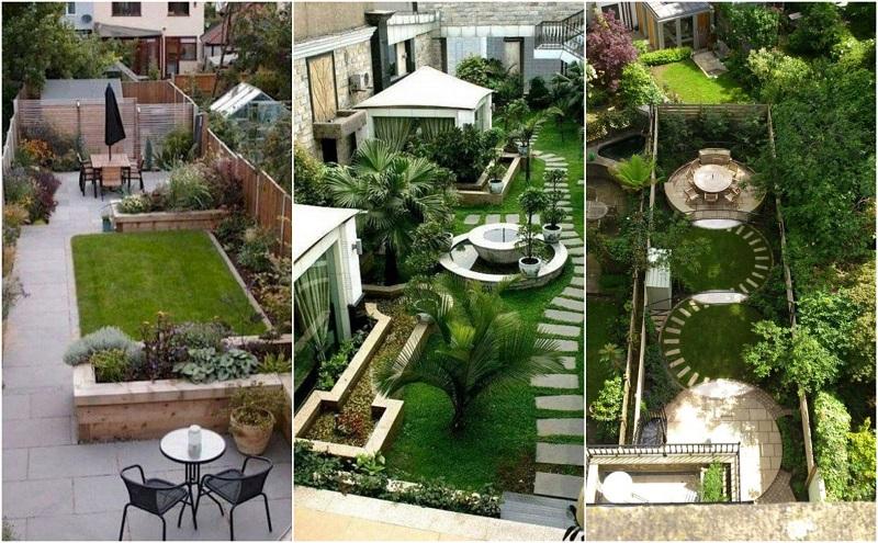 ایده های طراحی و اجرای فضای سبز