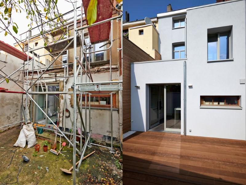 بازسازی نمای بیرنی ساختمان