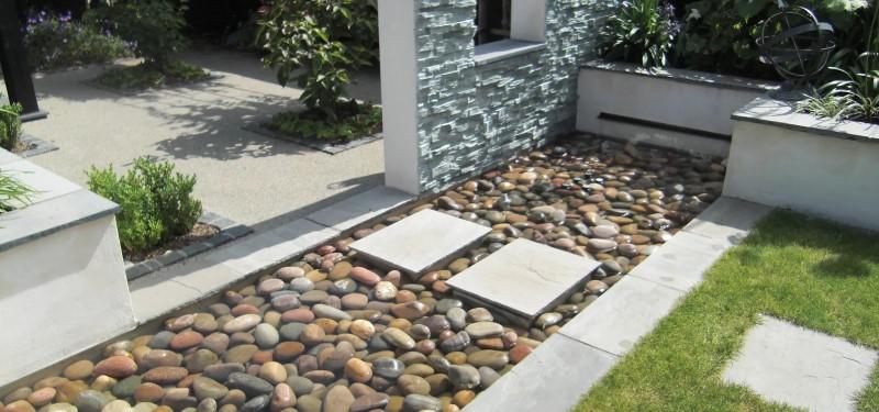 نقش نهر در محوطه سازی باغ