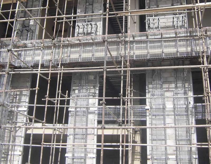 از رابیتس در چه بخش هایی از ساختمان استفاده می شود؟