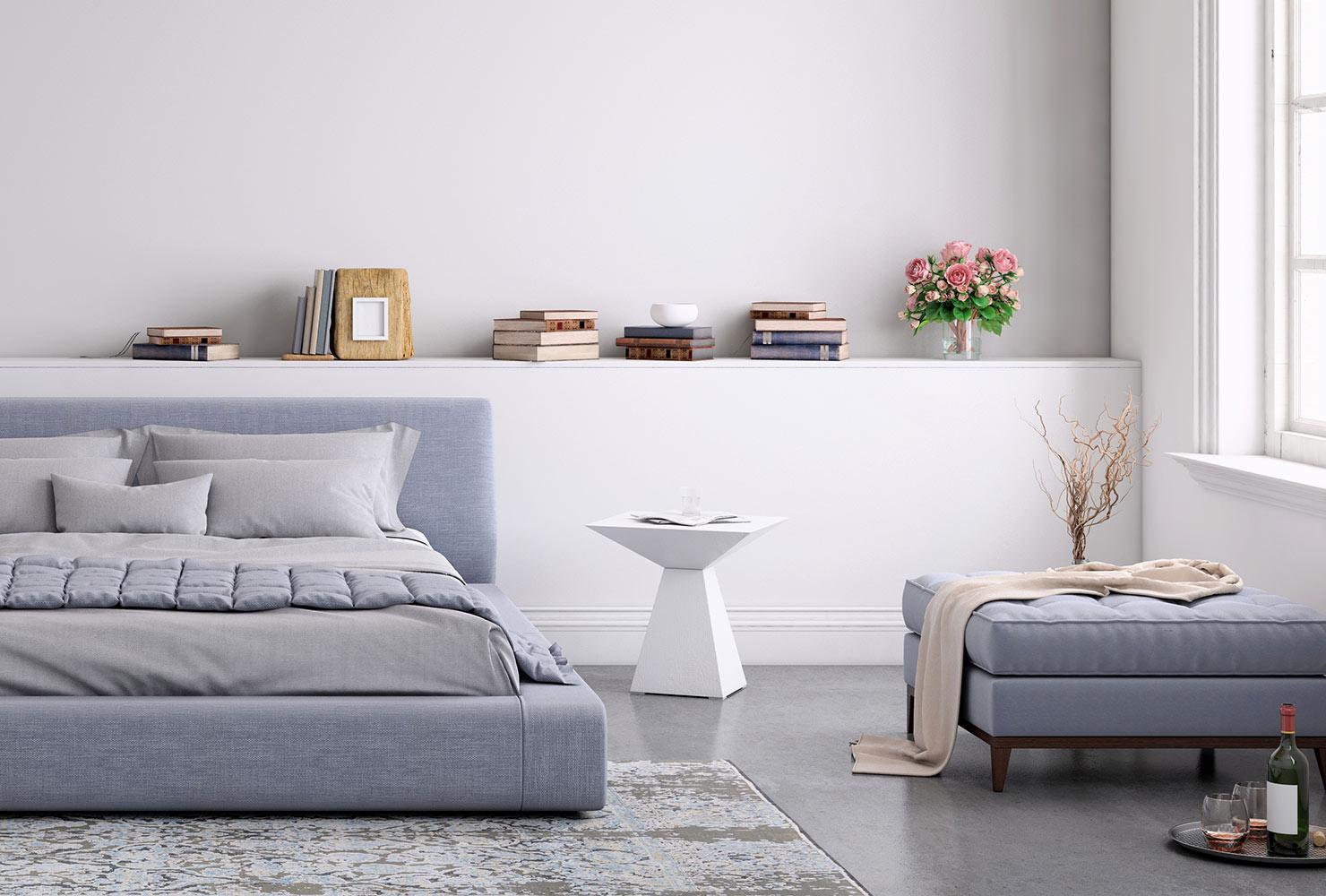 راهنمای انتخاب رنگ های آرامش دهنده اتاق خواب